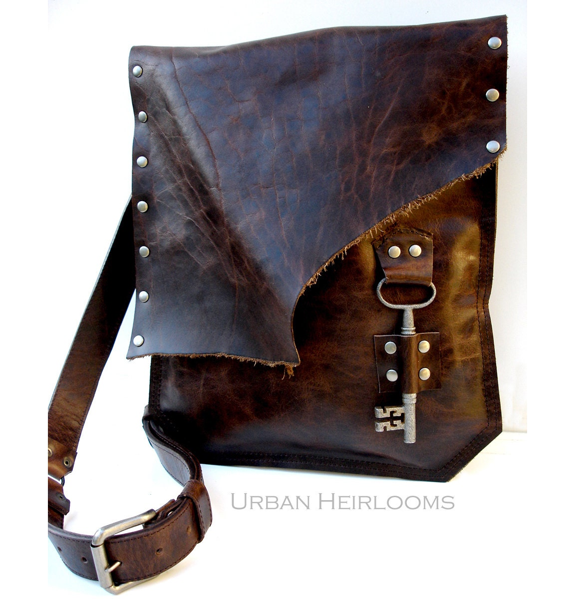 Floto messenger bags and cross body bags are handmade in Italy with % genuine leather. We only use the highest quality leather and materials available. Some of our leather messenger bags are offered in different colors like Vecchio Brown, Olive (Honey) Brown, Tuscan Red, and Black.