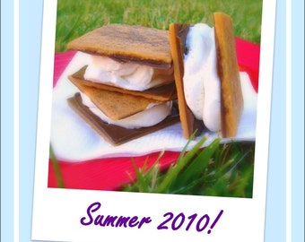 S'mores, Stripes, and Sun - Lets Get Soapy eZine for glycerin soap crafting - Issue 7