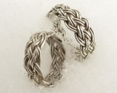 DecaPlait Braided Sterling Silver Ring