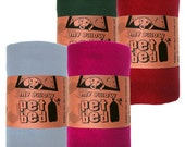 Eco Pet Bed - Blanket - Recycled Fleece - You Pick the Color