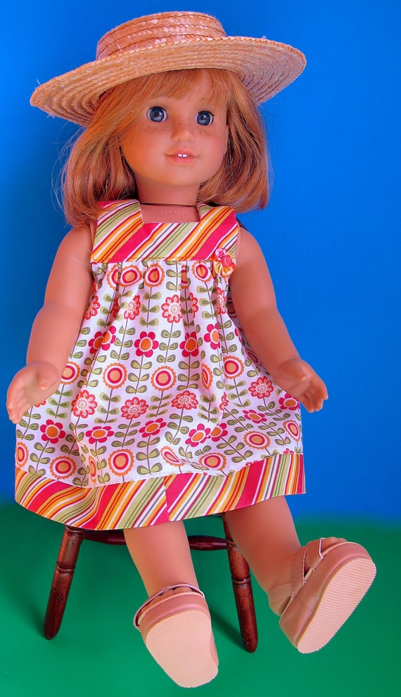 Dress Pattern PDF for American Girl - 18 inch Doll Clothes Pattern ...