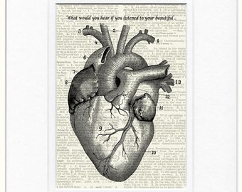 heart quote sign