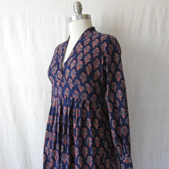 Native american print maxi dress