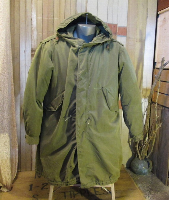 Army M 51 Fishtail Parka Military MOD coat by funkomavintage