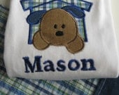 Boy's Outfit Puppy Dog Personalized for Baby Boy