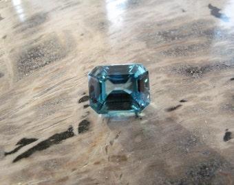 Natural Blue Zircon Loose Gem Stone