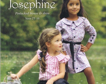 Violette Field Threads Josephine Blouse and Dress Sewing Patterns