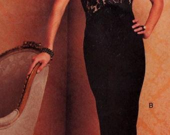 Vogue 2735 Bellville Sassoon Designer Original Pattern Evening Cocktail Red Carpet Dress Sizes 14 16 18 Uncut
