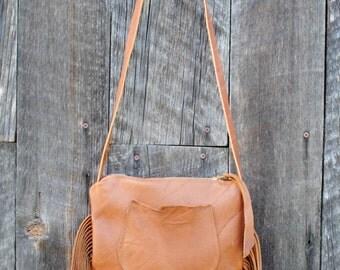 Earth Traveler Saddle Brown Eco Leather Purse