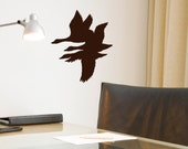 Duck Hunter decor Wall Decal hunting decor, lodge retreat decoration, hunters cabin, vinyl sticker