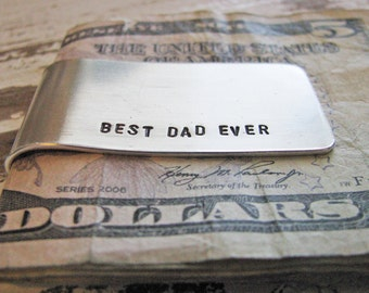 custom money clip - personalize for Dad or groomsman gift
