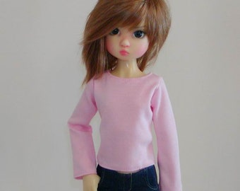 Long Sleeved Top -Wiggs MSD, DT 7,Similar MSD BJDs- Colors Available