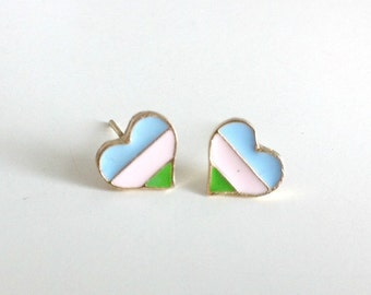 Pastel Heart Posts