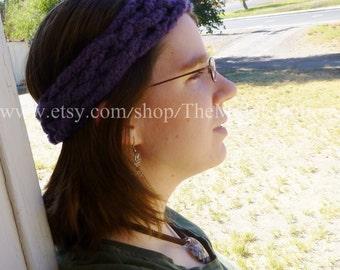 The Josie - Celtic Knot Headwrap - In Amethyst