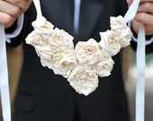 Something Old, Something New Bridal Statement Necklace- Made to Order