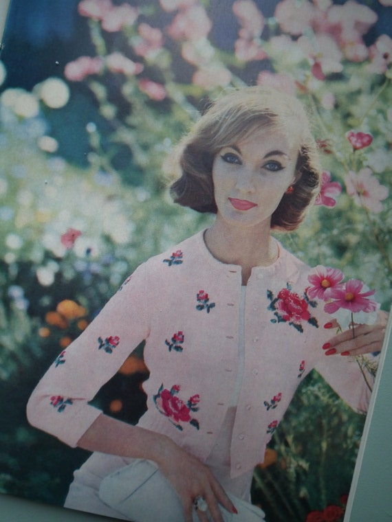 Vintage Vogue Knitting Book No 52 1950s Knitting Patterns