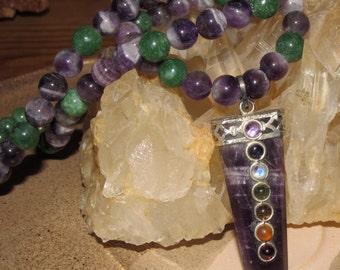 Beautiful Amethyst Chakra Necklace