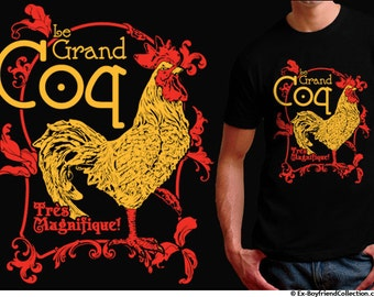 Big Rooster Shirt - Year of the Rooster Shirt - Rooster T Shirt - Rooster 2017 - Rooster Lover Gift - Farm Animal Shirt - Homoerotic