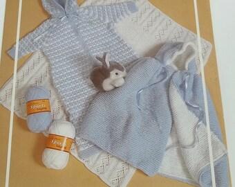 Sleep bag baby knitting pattern - Vintage Etsy UK