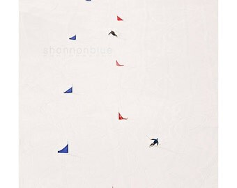 skiing photography / winter, ski, snow, white, colorado, alpine, snow sports, winter sports, slalom / i'd rather be skiing / 8x10 fine art
