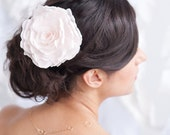 Flower fascinator, rose clip, flower comb - style 1102