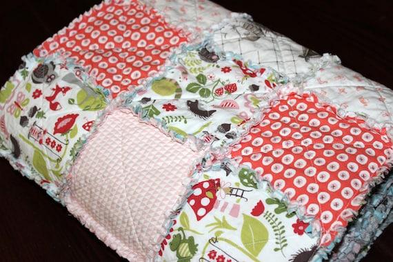 Organic cotton quilt by Benoit Designs