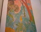 Vintage Print - Matisse - Moroccan Garden - Fine Art ephemera