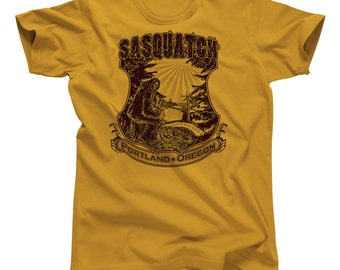 Sasquatch : Portland Oregon T-Shirt