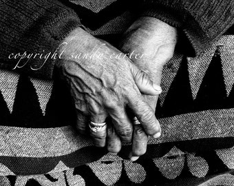 Hands in Black and White - A Fine Art Photograph