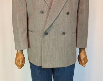 Rare Ungaro pour l'homme Paris made in Italy wool sport coat Blazer 42 S