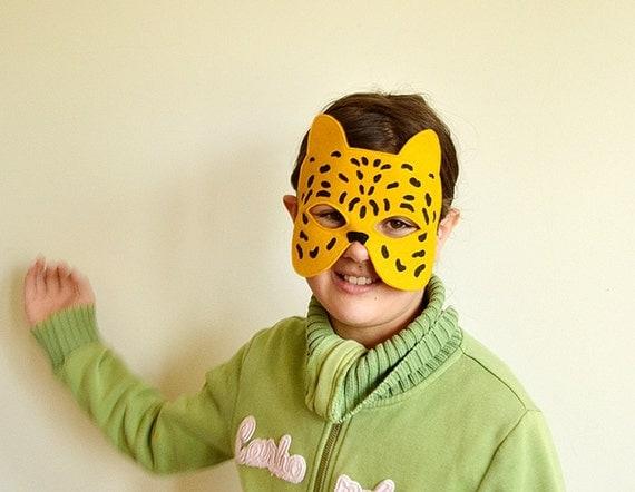 Niños Chita o máscara de leopardo los niños sentían por BHBKidstyle