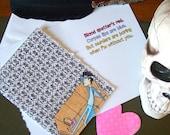 Sherlock Card - BBC Sherlock Holmes - Missing You - I Love You
