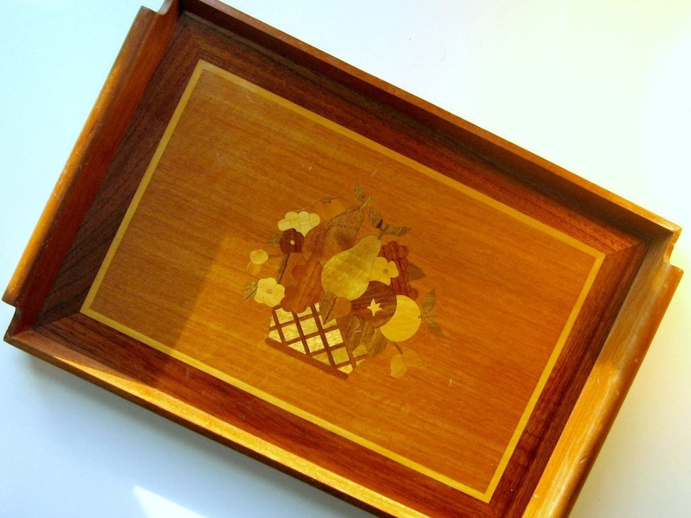 vintage wood serving trays wooden inlay tray vintage wood serving tray vintage fruit 6883