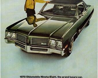 1970 Oldsmobile Ad