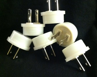 Six Replacement Bulbs for small 1/3 watt neonlithic night lights