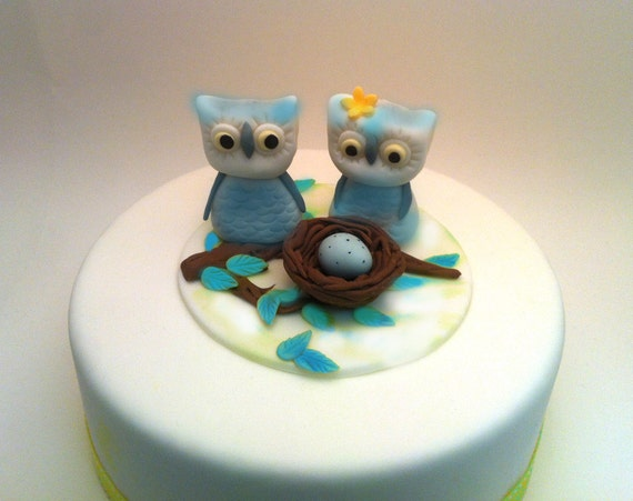 Items similar to Edible Baby Shower Cake Decoration baby ...