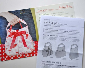 Jack and Jill sewing pattern