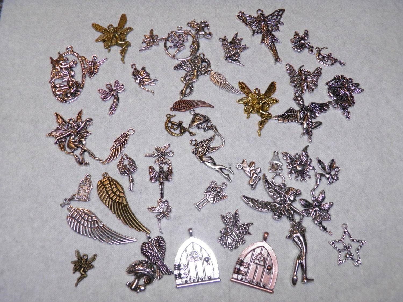 Fairy Charm Jewellery Fairy Charms 45pc Fairy Charm