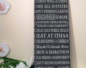 personalized chalkboard sign on Etsy, a global handmade and ...