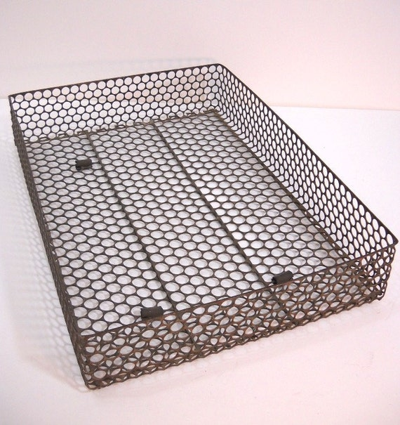 Industrial Office Tray Wire Basket Office In And Out Basket