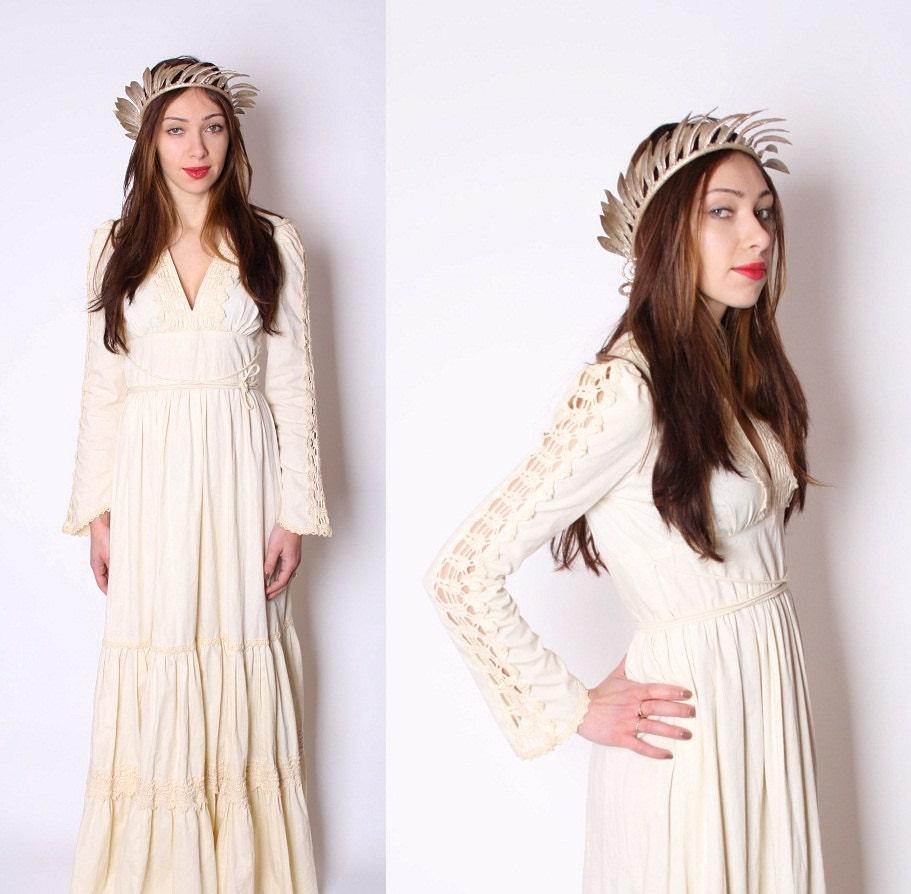 Gunne sax crochet wedding dress renaissance dress for Crochet wedding dresses for sale