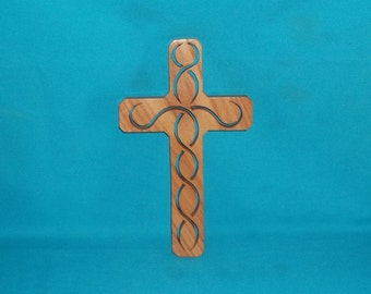 Wooden Wall Cross C18