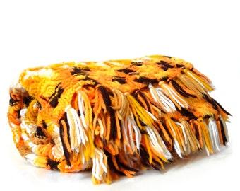 Yellow & Orange Afghan