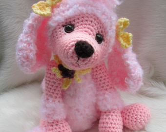 Crochet Pattern Poodle Dog by Teri Crews instant download PDF format