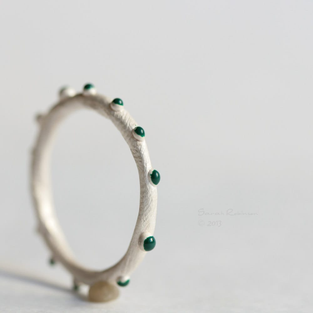emerald bubbles ring lachicadelosanillos