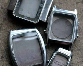 Wrist Watch Cases -- set of 4 - D11