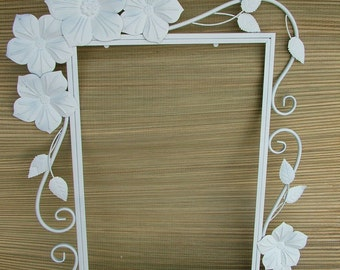 DECORATIVE Mirror or Chalkboard, Seaside, Beach Cottage, Shabby Chic, Nursery,Choose Colors, 36 x 26