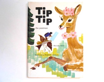 Tip Tip the Postman, a Rare Vintage Children's Book