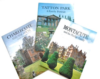 English Castle Books, Tatton Park, Montacute and the Phelips Family, Charlecote and the Lucys