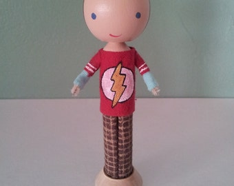 Sheldon Cooper from The Big Bang Theory - MADE TO ORDER